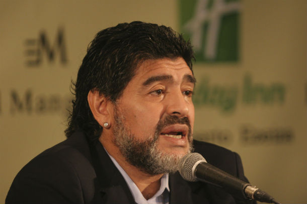Maradona Appointed Dubai Sports Ambassador