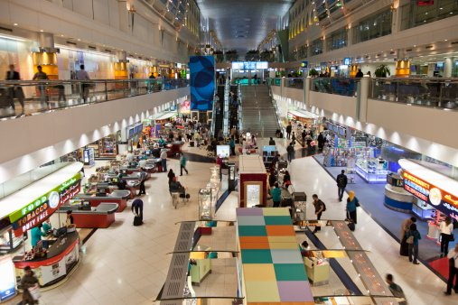 Dubai Airport Passenger Traffic Up 15% In January