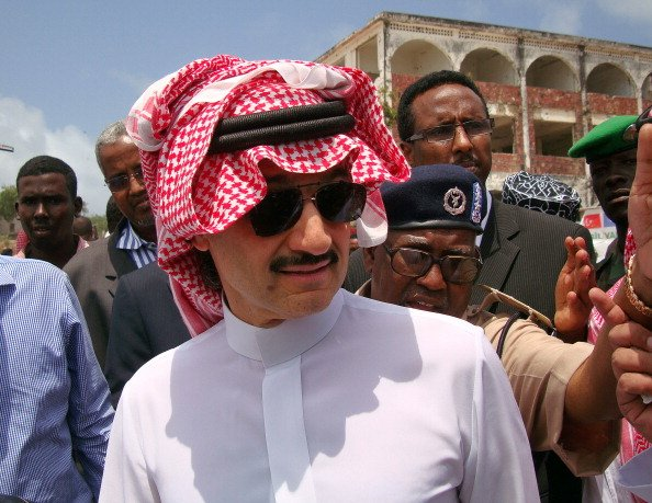 "Prince Alwaleed Says Saudi's Oil Dependence Is Cause For ""Worry"""