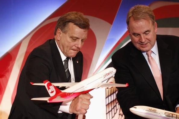 Etihad Nears Extension Of Air Berlin Partnership; Still Looking At Alitalia