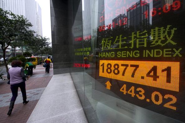 Hong Kong Main Index Closes At Highest Since May 2008