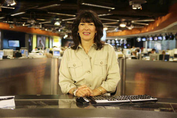 Christiane Amanpour, CNN's chief interna