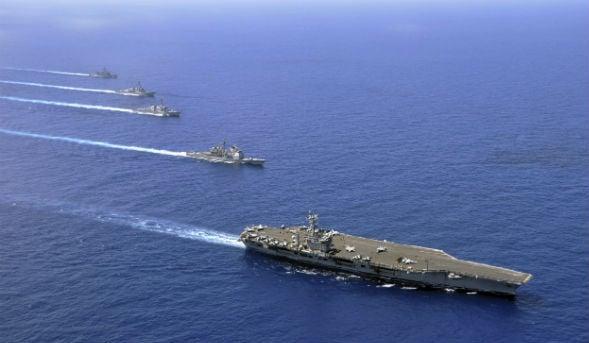 U.S. Aircraft Carrier Gulf Presence Reduced