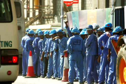 Dubai Labourers Stage Rare Strike For More Pay