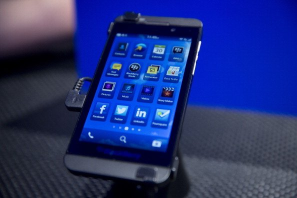 BlackBerry Launches New BB10