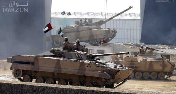 US Firm Raytheon Agrees To Equip UAE Armoured Vehicles With Rockets