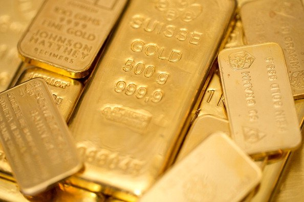 Gold Rises On Ukraine, Middle East Conflicts; Fed Eyed