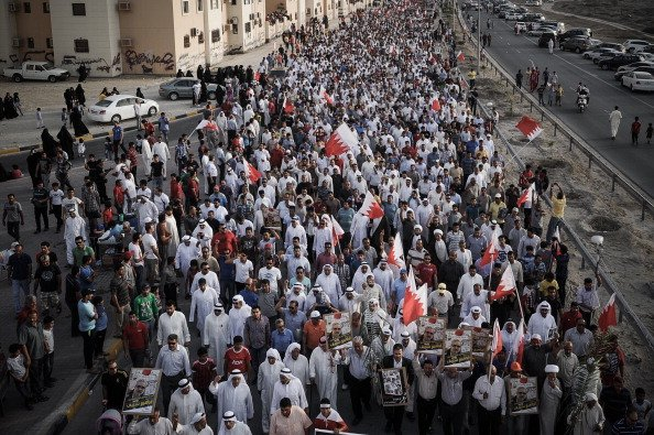 Thousands Of Bahrainis Protest Before Formula One