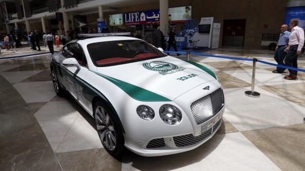 Aston Martin, Bentley Join Dubai Police Fleet