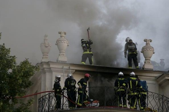 Fire Damages Qatari-Owned Historic Paris Hotel