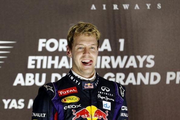 Vettel Wins Abu Dhabi Grand Prix