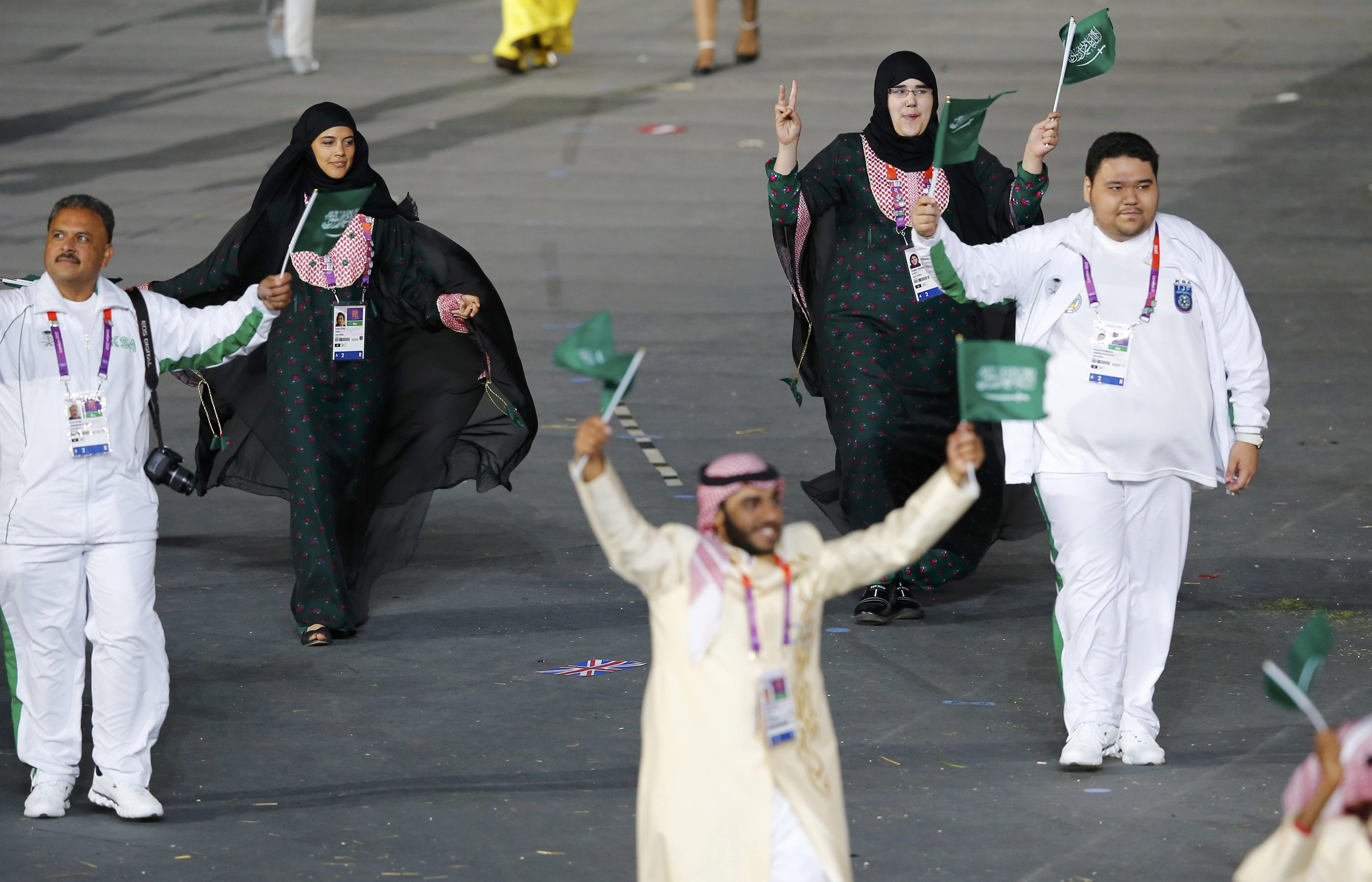 Saudi Women's Olympic March Draws Praise, Blame