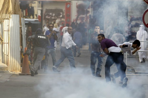 Bahrain Defends Use Of Teargas Following Criticism