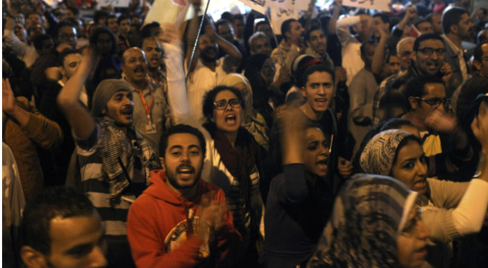 Egyptians Challenge Mursi In Nationwide Protests