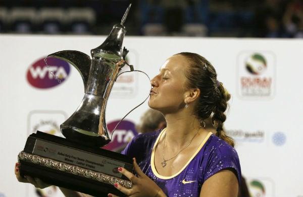 Kvitova Wins Dubai Duty Free Tennis Championships