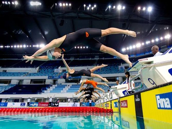 Abu Dhabi wins bid to host 2020 world swimming championship