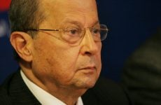 Lebanon's Aoun begins two-day Saudi visit