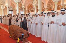 Photos of the week: Former Qatari Emir's funeral, refugees flee Mosul, Venezuelan political crisis