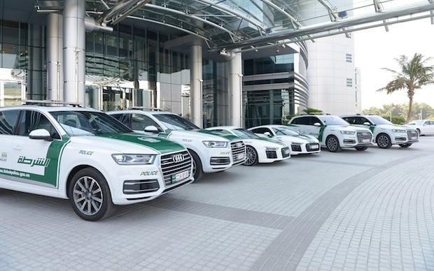 Two Audi R8 Supercars Join Dubai Police Fleet Gulf Business