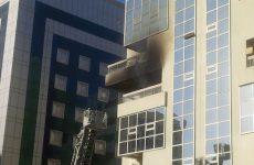 Fire breaks out in Dubai building