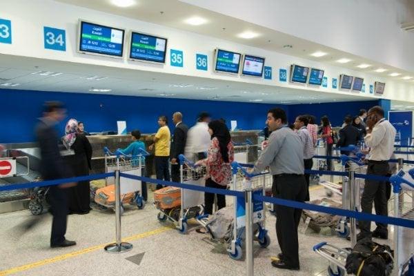 Etihad airways check in
