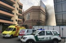 Pictures: Massive blaze breaks out at Dubai's Lamcy Plaza