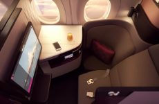 Video: Qatar Airways unveils new Qsuite business class