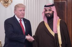 "Saudi deputy crown prince, Trump meeting a ""turning point"", says Saudi adviser"