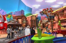 Pictures: Warner Bros World theme park takes shape at Abu Dhabi
