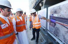 Work progresses on Dubai Metro extension to Expo 2020 site