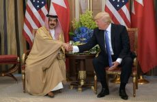 Trump says ties with Bahrain won't be strained anymore
