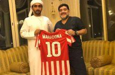 Diego Maradona appointed new coach of Fujairah football club