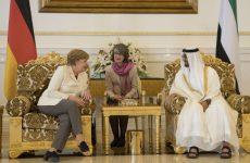Merkel sees EU, Gulf states making progress on free trade deal