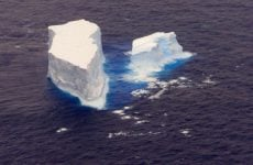 Abu Dhabi firm proposes towing icebergs to the UAE for drinking water