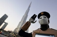 Robocop joins Dubai police duty at Burj Khalifa