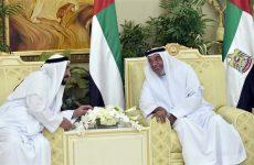 Video: UAE President Sheikh Khalifa exchanges Eid greetings