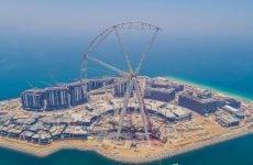 Work progresses on world's largest observation wheel in Dubai