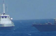 US Navy ship fires warning shots near Iranian vessel