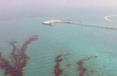 Kuwait says oil spills contained