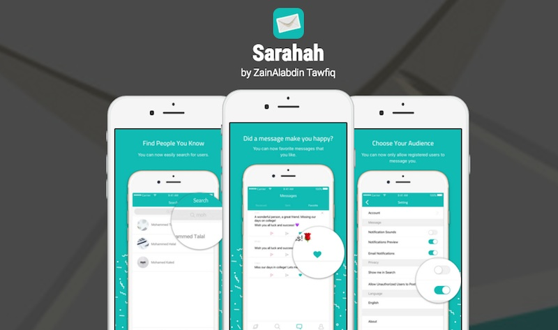 App made by Saudi developer, Sarahah, tops global charts
