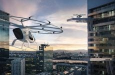 More images revealed of air taxis set to begin trials in Dubai this year