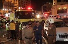 Fire breaks out at a hotel in Makkah