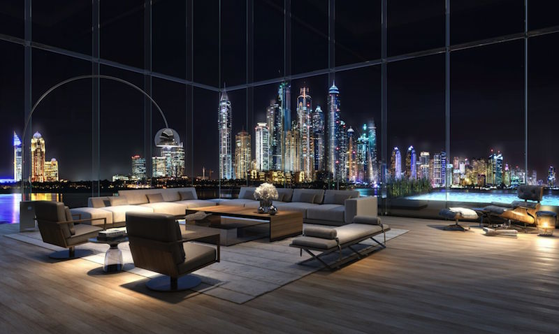 A Massive Apartment At The One Palm Project By Omniyat Has Sold For Dhs102m Becoming Most Expensive In Dubai This