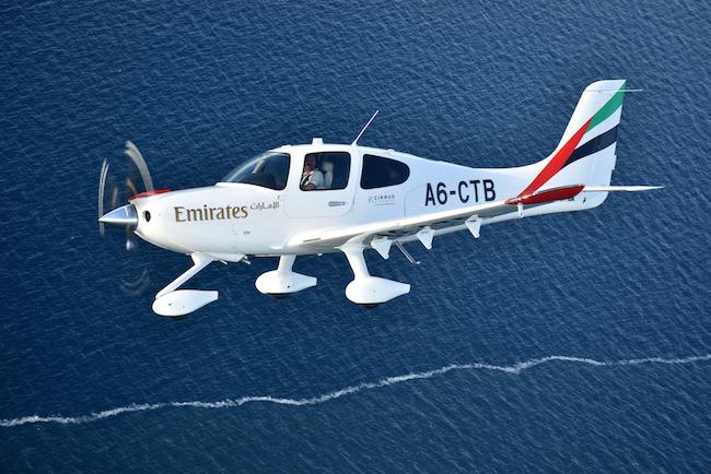 Dubai Airline Emirates New Pilot Academy Receives First Training