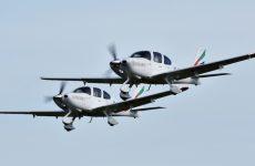 Dubai airline Emirates' new pilot academy receives first training aircraft