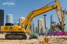 Construction work begins at Uptown Dubai district