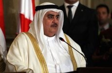 Bahrain foreign minister calls for freezing Qatar out of GCC