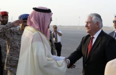 US secretary of state Tillerson lands in Saudi as he starts GCC tour