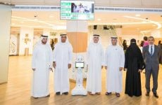 Robots join the customer service team at Dubai's DEWA