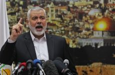 Hamas calls for Palestinian uprising in response to Trump's Jerusalem plan